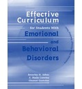 Effective Curriculum for Students with Emotional and Behavioral Disorders