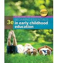 California Edition Beginning Essentials in Early Childhood Education: Concepts and Cases