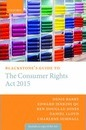 Blackstone's Guide to the Consumer Rights Act 2015