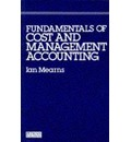 Fundamentals Of Cost And Management Accounting
