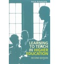 Learning to Teach in Higher Education