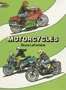 Motorcycles Colouring Book