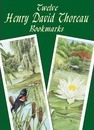 Twelve Henry David Thoreau Bookmark