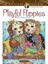 Creative Haven Playful Puppies Coloring Book (working title)