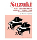 Suzuki Piano Ensemble Music: 2 Pianos, 4 Hands - Second Piano Accompaniments v. 3 & 4