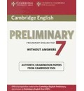 PET Practice Tests: Cambridge English Preliminary 7 Student's Book without Answers
