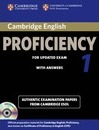 CPE Practice Tests: Cambridge English Proficiency 1 for Updated Exam Self-study Pack (Student's Book with Answers and Audio CDs (2)): Authentic Examination Papers from Cambridge ESOL