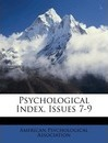 Psychological Index, Issues 7-9