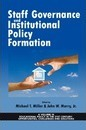 Staff Governance and Institutional Policy Formation